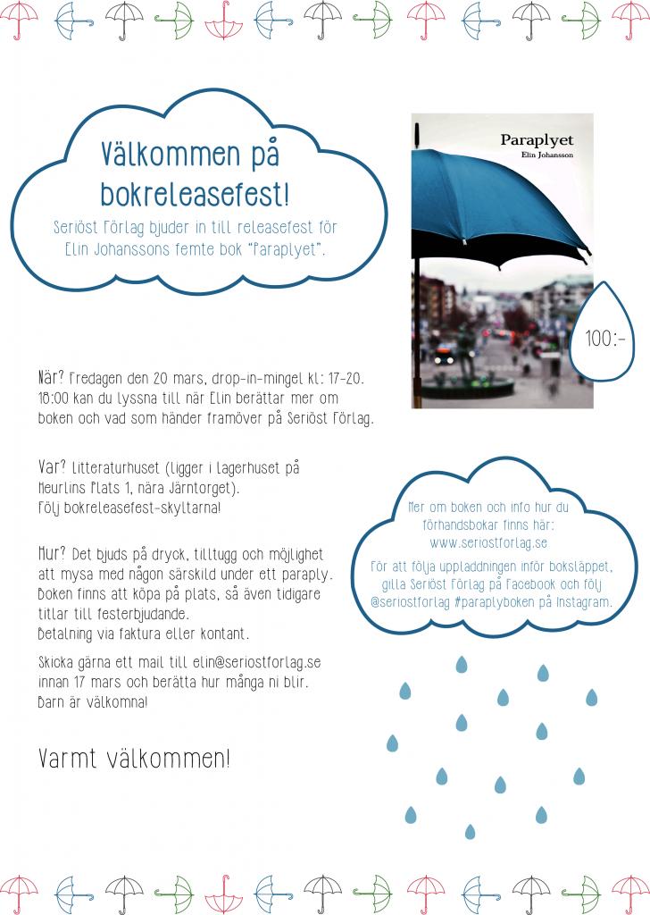 Bokrelease-Paraplyet